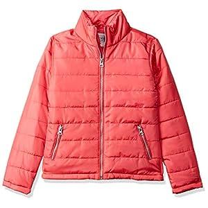 CHEROKEE Girl's Regular fit Jacket (280205085_Coral_9-10 Years)