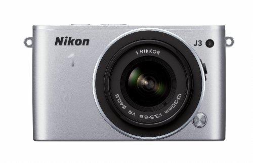 Nikon 1 J3 14.2 MP HD Digital Camera with 10-30mm VR 1 NI...