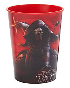 Star Wars Episode VII 16-Oz. Plastic Cup, Party Supplies Novelty