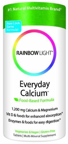 Радужного света каждый день кальций, 1200 мг кальция и магния, 120 таблеток (комплект из 2)