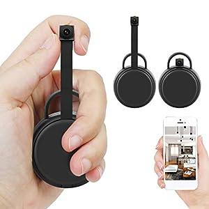 Flashandfocus.com 410t8S1fMaL._SS300_ Mini Hidden Camera DIY Small Wireless Spy Camera Tiny WiFi Security Cam Covert Nanny Camera True 1080P Cams for Home…