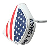 Craftsman-Golf-USA-AMERICA-MALLET-Putter-Cover-Headcover-For-Scotty-Cameron-Odyssey