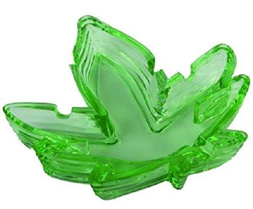 Glass POT LEAF ASHTRAY - 5