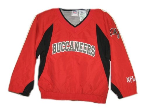 3e4c8093 Amazon.com: Tampa Bay Buccaneers NFL Team Apparel Kids Red Pullover ...