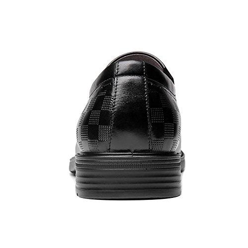 da Aiutare Scarpe per Basse Uomo Affari Piedi di Invernali Set Scarpe Black in Scarpe Pelle Vestiti GTYMFH PSqn5Zxw