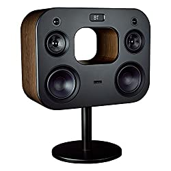 Fluance Fi70B Three-Way Wireless High Fidelity Music System with Powerful Amplifier & Dual 8 Subwoofers (Natural Walnut)