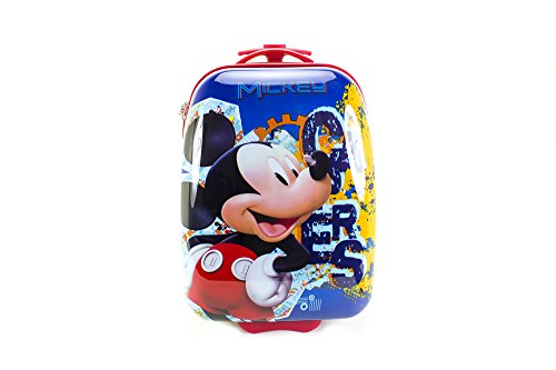 [Disney 16 Kids Hard-Sided Rolling Pilot Case, Mickie Mouse] (Good Story Book Character Costumes)