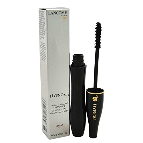 Lancome Hypnose Custom Volume Mascara, 011 Extra Black, 0.23 Ounce