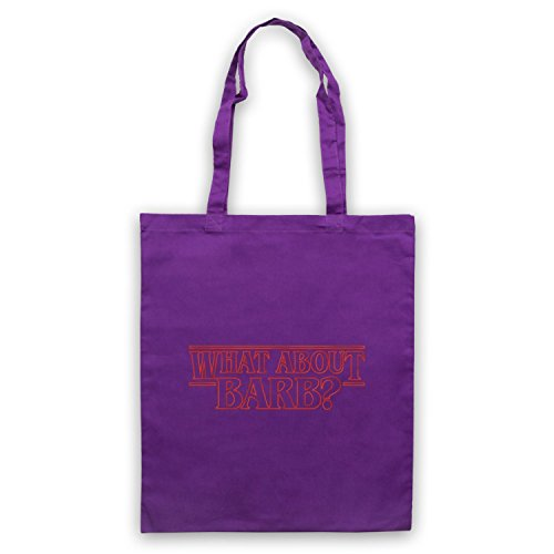 Stranger Things What About Barb? Bolso Morado