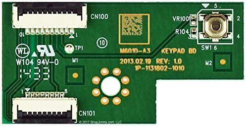 Keyboard Controller 1P-1131802-1010 Vizio Y8386011A