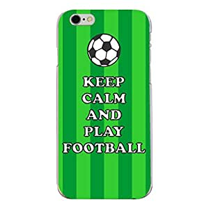 "Disagu Design Protective Case para Apple iPhone 6s Funda Cover ""KEEP CALM AND PLAY FOOTBALL"""