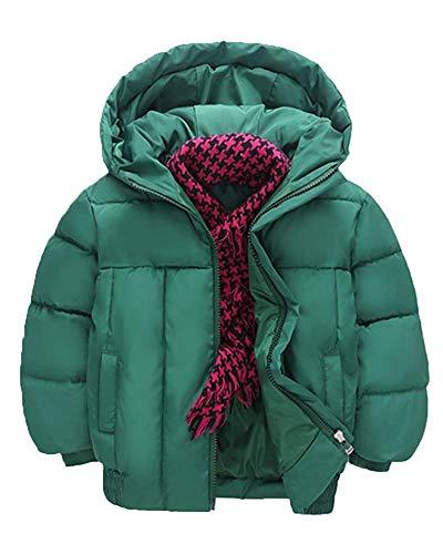 Out Winter 110 Zhrui Out épais Coat Vert Taille Couleur Tenue Hooded Orange Warm Enfant Veste 5IqIR