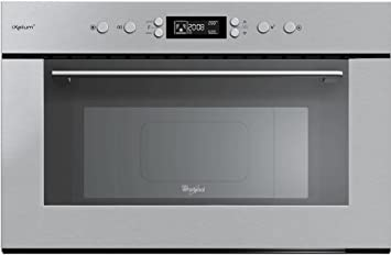 Whirlpool AMW 715 IXL Integrado 31L 1000W Acero inoxidable - Microondas (Integrado, 31 L