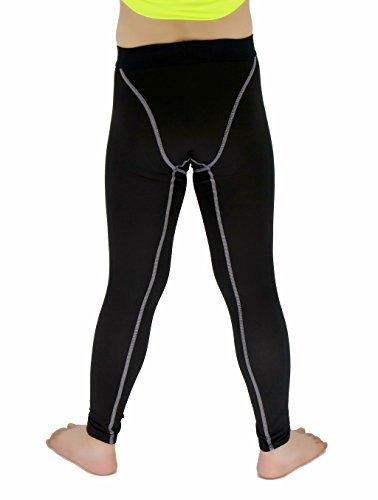 Sanke Boys Sports Running Stretch Pants Compression Football Legging