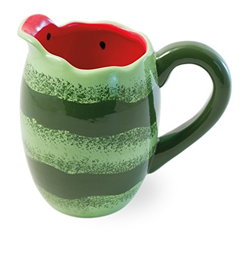 Boston International Ceramic Pitcher, Watermelon