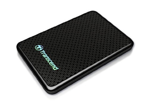 Transcend Information 256GB SuperSpeed 2.5-Inch USB 3.0 External Solid State Drive 260/225 MB/s TS256GESD200K by Transcend