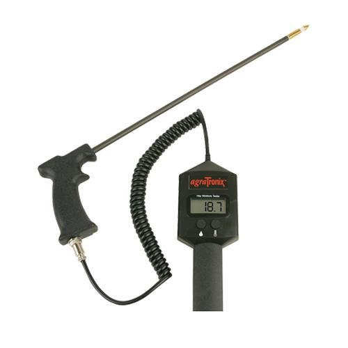 Image of Moisture Meters AgraTronix 07100, DHT-1 Portable Hay Moisture Meter with 18' Probe