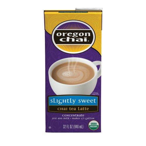 Chai Tea Latte, Original, Slightly Sweet, Concentrate, Part