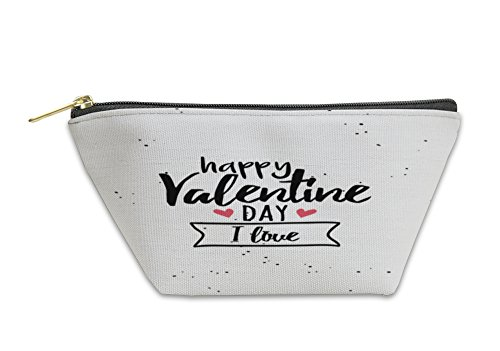 Gear New Accessory Zipper Pouch, Happy Valentines Day, Large, 6051316GN by Gear New