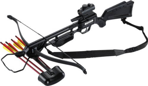 Jaguar CR-013BK Crossbow Kit, 175-Pound, Black