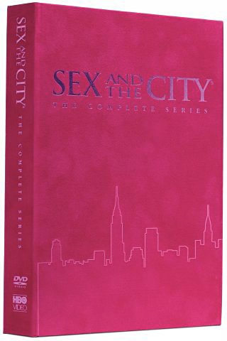 Sex and the city complete seasons 1 6 pink book