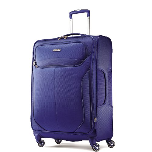 UPC 043202587412, Samsonite Luggage Lif Two Spinner 25 Suitcases, Blue, One Size