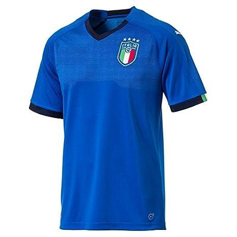83e1880d Buy Golden Fashion Non Branded Italia Blue Color Football Jersey ...