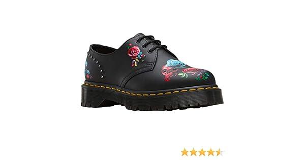 jak kupić kod promocyjny szczegóły Women's 1461 Bex Rose Fantasy Hydo Leather Lace Up Shoe Black
