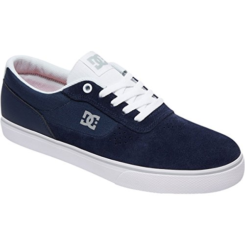 Dc Skateboarding Switch Signature Scarpe Da Skate - Mens Navy Bianco
