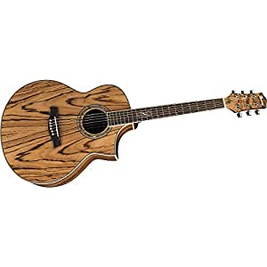 ibanez ew20zwent exotic wood series acoustic electric guitar zebrawood natural. Black Bedroom Furniture Sets. Home Design Ideas