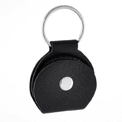 Amazon.com: eDealMax Negro de cuero de imitación con botones ...
