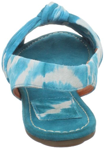 Bacio61 Womens Rovigo Sandale Plate Turquoise