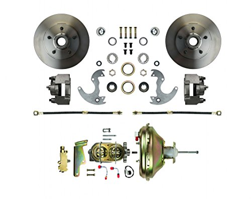 The Right Stuff Detailing AFXDC14 Disc Brake Conversion Kit for wheels. A/F/X body vehicles. Booster, Master Cylinder and Valve (Malibu Disc Brake Conversion)