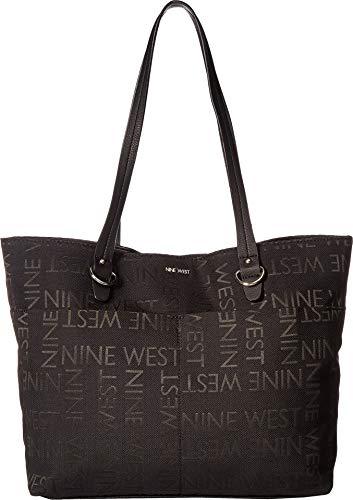 Nine West Women's Genevieve Tote Black 1 One Size ()