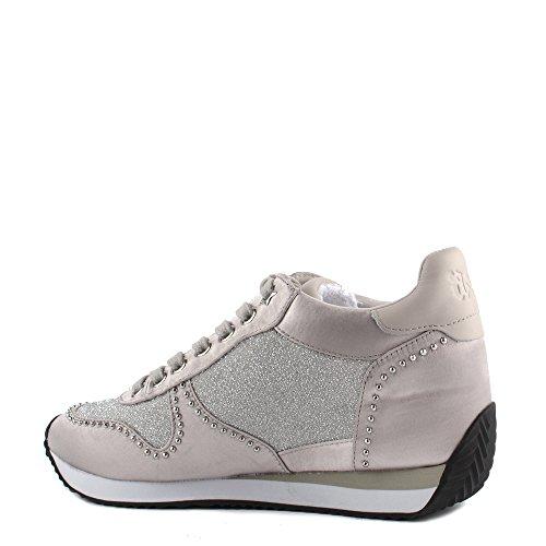 Ash Zapatos Blush Bis Zapatillas de Cuna Mujer Plateado