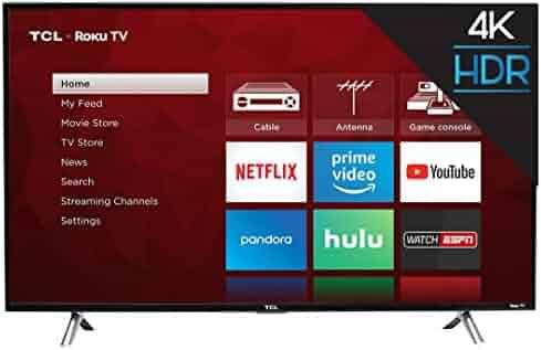 TCL 49S405 49-Inch 4K Ultra HD Roku Smart LED TV (2017 Model)