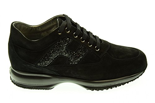 HOGAN woman sneakers low INTERACTIVE HXW00N0S3609KEB999 Nero prices cheap online quality free shipping outlet For sale online ATXIxFt9