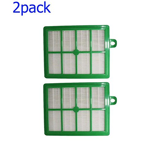 Replacement Washable Hepa Filters (Anewise Electrolux Washable and Reusable Hepa Filter, Fits Electrolux Eureka Sanitaire HF12, H12, HF1 and EL012W Upright/Canister Filter (2))