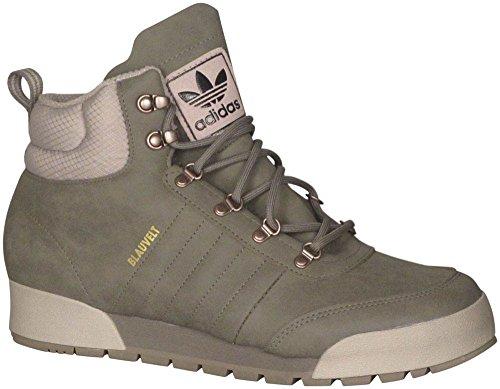 Adidas Originals Jake Boot 2.0 monopatín zapato, Negro / negro / negro, 7 M US Marrón