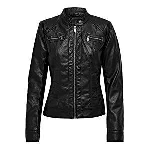 Only Bandit Pu Biker Noos Giacca Donna 17