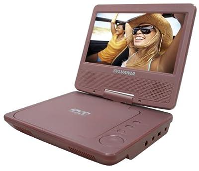 Sylvania SDVD7014 7-Inch Portable DVD Player,