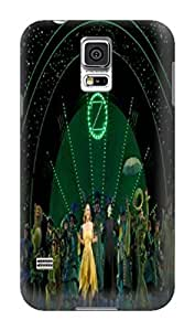 DIY armor tpu skin back cover with sincere for Samsung Galaxy s5(Musical Wicked) by Paul Lawrencen