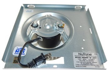 Nutone Motor (8664RP) Assembly # 97017706 1550 RPM; 1.2 amps, 115 volts by B007MZXOZY