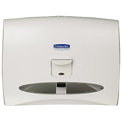 Kimberly Clark Windows Toilet Seat Cover Dispenser (09505), White
