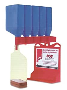 Oil Bottle Draining System B.o.b. Bottom of the Bottle Recycling Green No Waste