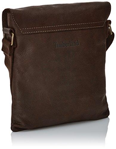 Timberland TB0M5052, Bandloera Hombre, 1x30x26 cm Marrón (Black Coffee)