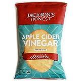 Jackson's Honest Potato Chips - Apple Cider Vinegar - Made with Organic Coconut Oil, Non GMO, 1.2 oz. (36 Pack)