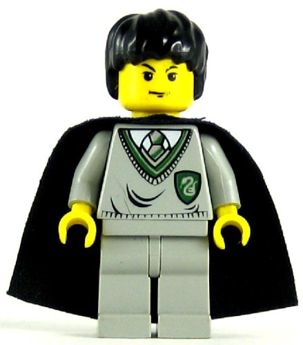 LEGO Harry Potter Minifig Tom Riddle Slytherin Torso Light Gray Legs