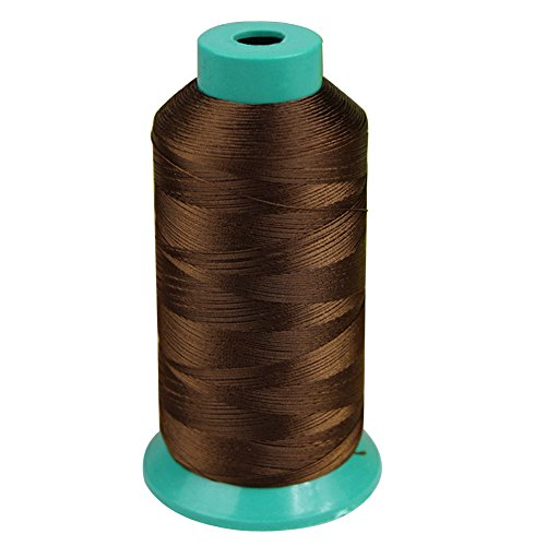 Bonded Nylon Sewing Thread 3000 Yard 150D for the Upholstery, Outdoor Market, Drapery, Beading, Luggage, Purses (Brown)