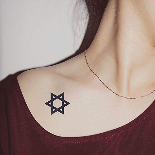 Etiqueta engomada del tatuaje sexy clavícula diente de león planta ...